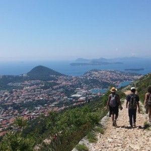 Hiking around Dubrovnik